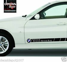 Decal Vinyl Sticker Fits BMW Parts 740LI, 750LI, X3, X5 4.8I, M5 VIO, 2,3,4,5,6