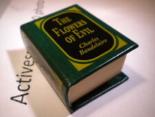 Del Prado miniature book - The Flowers of Evil - Charles Baudelaire