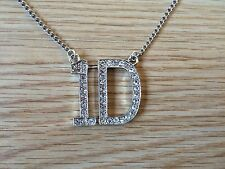 "ONE Direction 1d Strass Collana pendente con catena 28""."