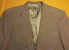 Eddie Bauer AKA 44T Tall Wool 2 button Houndstooth sport coat see colors