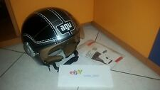 CASCO JET AGV BALI COPTER E2205 CHOPPER BLACK/GUN METAL