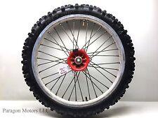 "1991#2 91 KTM 300EXC 300 EXC Front Wheel Tire Rim Hub Takasago Excel 21x1.60 21"""