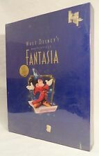 Vtg Disney FANTASIA Masterpiece Collection SEALED Deluxe Edition VHS CD 1990