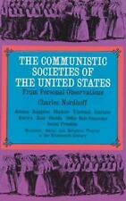 The Communistic Societies of the United States, Charles Nordhoff, Acceptable Boo