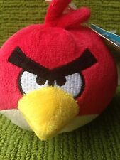 "ANGRY BIRD -4"" PLUSH SOFT TOY WITH SOUND -NEW WITH TAGS"