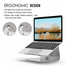 G4RCE Aluminum Steady Laptop Holder Stand, Luxury Style Portable Notebook Fit