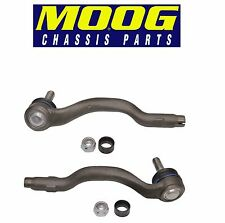 NEW BMW E46 325xi 330xi Front Outer Left & Right Steering Tie Rod Ends Moog