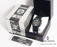 G-SHOCK One piece Pirates black Limited DW-5600 JAPAN Free shipping EMS Watch