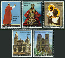 Vatican 495-499, MNH. Visit of Pope Paul VI to Oceania and Australia, 1970