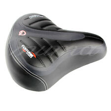 Wide Big Bike Gel Cruiser Extra Comfort relaxation Sporty Soft Pad Saddle Seat