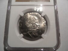 Rare 1976 Mint Error Mexico 5P Struck On 10P Planchet-NGC-Cert MS65!!!