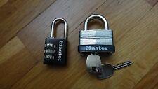 Set Of 2 Master Locks Travel/Luggage - New