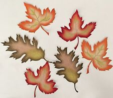 Bright Autumn Leaves For Fall - Iron On Fabric Appliques