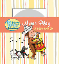 Curious Baby Music Play By Rey, H. | New (Children's Board Books) BOOK