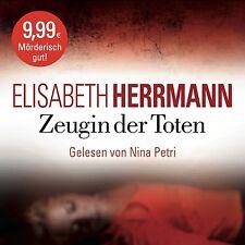 NINA PETRI - E.HERRMANN: ZEUGIN DER TOTEN (KRIMI-BESTSELLER) 6 CD NEU