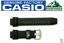 CASIO Pro Trek Pathfinder PAW-5000 18mm Original Black Rubber Watch BAND Strap