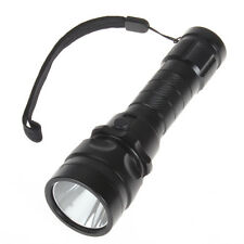 Underwater 1800 Lumens CREE XM-L T6 LED Diving Flashlight Dive LED Torch
