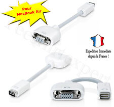 Mini DVI a VGA monitor vídeo cable adaptador para MacBook Air adaptador