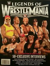 Legends of Wrestle Mania Collector's Edition  Feb/Mar 2015 FREE SHIPPING