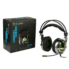 SADES SA-928 Stereo Lightweight Gaming Headphone Headsets 3.5mm with Mic for PC