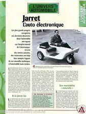 Voiture Electronique Jarret Batteries Electriques France  Car Auto FICHE FRANCE