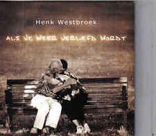 Henk Westbroek-Als Je Weer Verliefd Wordt cd single