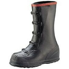 NEW NORCROSS T369 SIZE 10 OVERSHOE 5 BUCKLE BLACK RUBBER QUALITY WORK BOOTS SALE