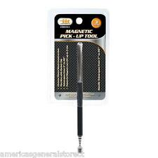 "3 lb. MAGNET PICKUP TOOL magnetic pick up handle telescopes to 26"" pencil clip"