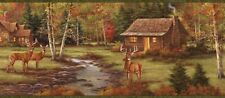 Deer Creek Lodge Chesapeake Easy Walls Wallpaper Border LL50051B