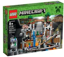 NEW LEGO MINECRAFT THE MINE Set 21118 sealed in box nib nisb steve creeper