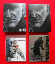Sony PS3 Metal Gear Solid 4 Guns of the Patriot Limited Edition Retro Game Japan