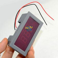 Digital AC LCD Voltmeter Ammeter Current Volt Voltage Panel Meter 2 Wire 75-300V