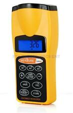 Ultrasonic Handheld Laser Pointer Distance Measurer Up to 18 Meter or 60FT Range