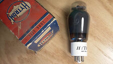 Hytron 6L6GX NOS NIB Ceramic Base Black Plate Tube