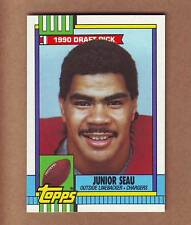 MINT 1990 Topps Junior Seau ROOKIE - Hall of Fame - San Diego Chargers Patriots