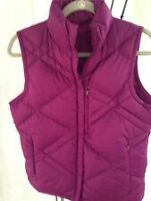 COLUMBIA SPORTSWEAR XCO WOMAN'S QUILTED REVERSIBLE DOWN VEST JACKET ZIP QUILTEDS