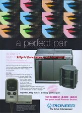 Pioneer CD-VC50 Multi CD Player 2001 Magazine Advert #2627