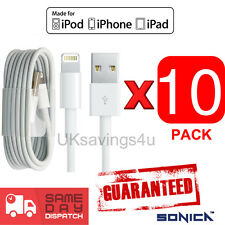 10 X USB Sync & Caricabatterie Dati Cavo Di Piombo Per Apple iPhone 6 5C / S iPad 4 Mini Air