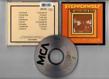 """STEPPENWOLF """"16 Greatest Hits"""" (CD) 1973-1985"""