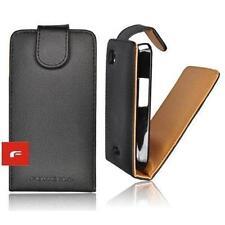 Tasche Flip Case Cover Schutz Hülle Etui Prestige Nokia 700 N700 schwarz