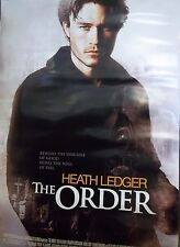 2003 The Order Heath Ledger Original Double Sided Movie Poster 27x40