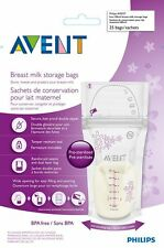Breast Milk Storage Bags-Philips Avent-25 Bags