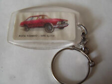 ANCIEN PORTE CLES BISCUITERIE CHERBOURGEOISE LA GLACERIE ALFA ROMEO 2600 SPRINT