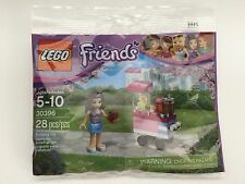 NIP LEGO Friends 30396 Emma's Cupcake Stand 28 pcs Polybag Mini Figure + Bonus