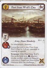 3 x Fleet from Wolf's Den AGoT LCG 1.0 Game of Thrones Reach of the Kraken 11