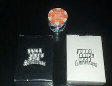 GTA San Andreas Rare White Playing Card Set