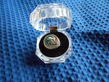 PHILADELPHIA EAGLES N.F.L. FOOTBALL, GIFT, PEWTER HAND PAINTED RING SIZE  8
