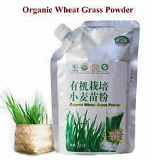 2 Packs CERTIFIED ORGANIC Young Wheat Grass Powder for 2 month supply