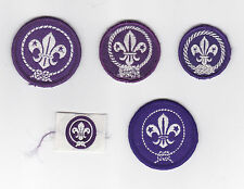 WORLDWIDE BOY SCOUTS & GIRL GUIDES Membership Rank Award Scout Patch (Lot C)