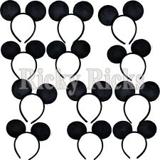 16 Mickey Mouse Ears Minnie Headbands Party Kids Adult Costume Favors Plush